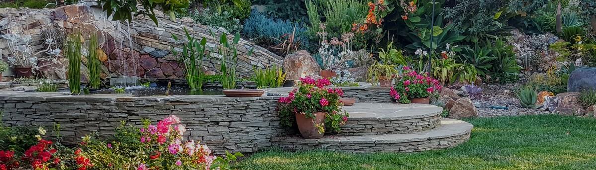 Award Winning   Rancho San Diego Mediterranean Meditation Garden