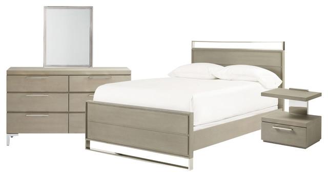 Universal Furniture Smartstuff Axis Reading Bedroom Set, Symmetry, Full#1081