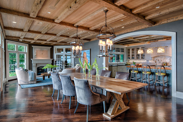 Rustic Dining Rooms stunning rustic elegant dining room ideas - room design ideas
