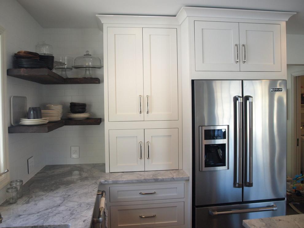 Appliance Garage - Farmhouse - Kitchen - New York - by ...