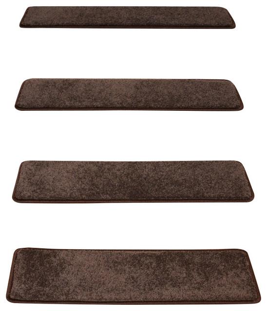 Non Slip Carpet Stair Treads Set Of 15 Contemporary