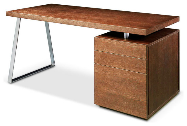 Tesla-2 Desk, Walnut.