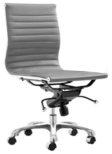 Ag management chair armless contemporary office chairs by advanced interior designs - Armless office chairs uk ...