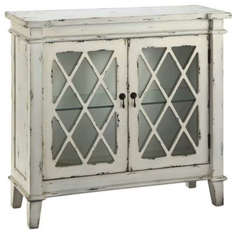 Goshen 2-Door Cabinet - Farmhouse - Accent Chests And Cabinets ...