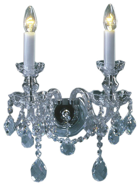 Bohemian Crystal Wall Lights : Bohemian Crystal Sconce - Victorian - Wall Sconces - by Inviting Home Inc