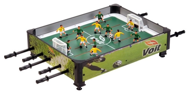 Voit 33in Table Top Rod Soccer Game Contemporary Game Tables