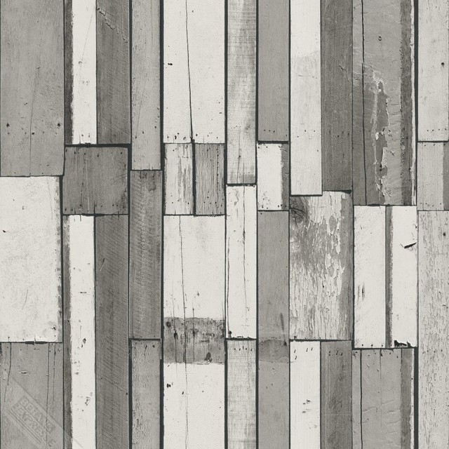 Modern Non Woven Wood Wallpaper For Accent Wall Whats Up Rustic By Designers