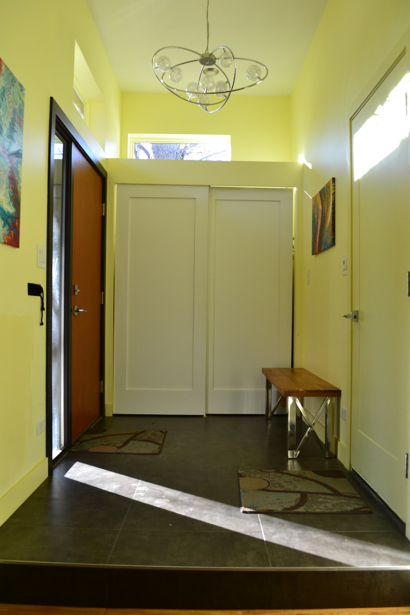 Midcentry Modern Entry Addition
