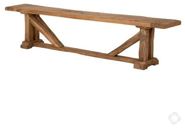 Oak Bench Particulier Rustic Indoor Benches By