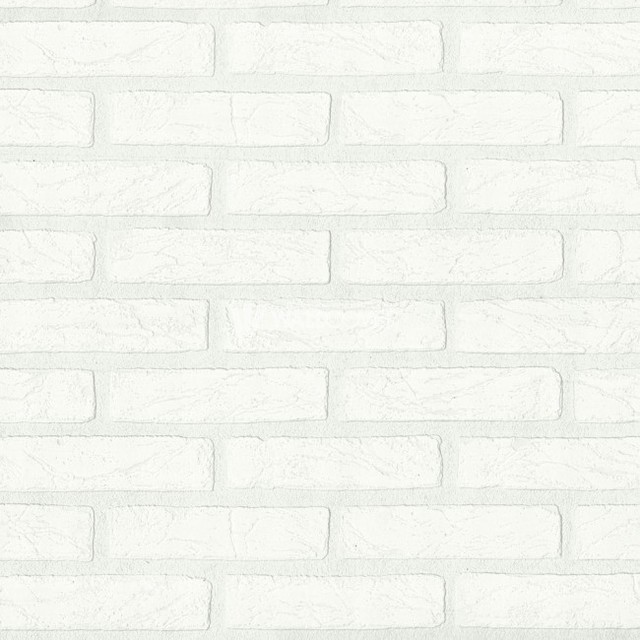 Wood And Stone Wallpaper Traditional Wallpaper by Designers