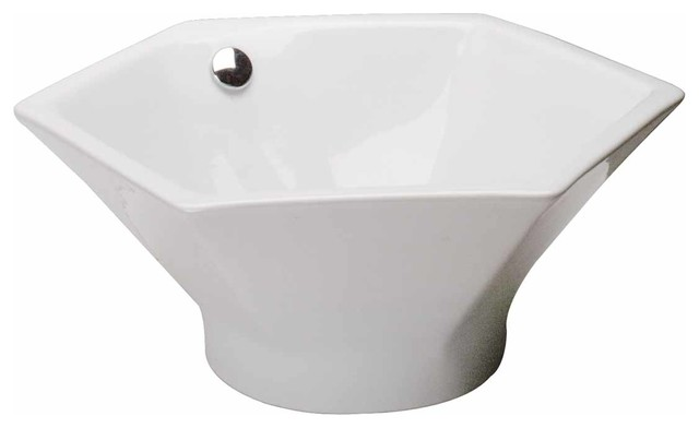 hexagon bathroom sink the renovator s supply inc bathroom vessel sink white 13110