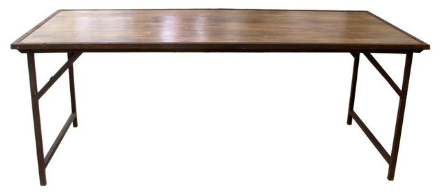 Delicieux Industrial Folding Table From Sarlo   $2,800 Est. Retail   $900 On C