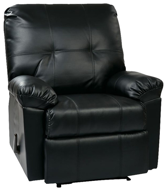 Office Star Kensington Recliner In Black Recliner Chairs Sc 1 St Houzz