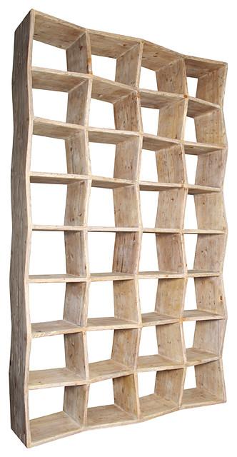 Zigzag Bookcase.