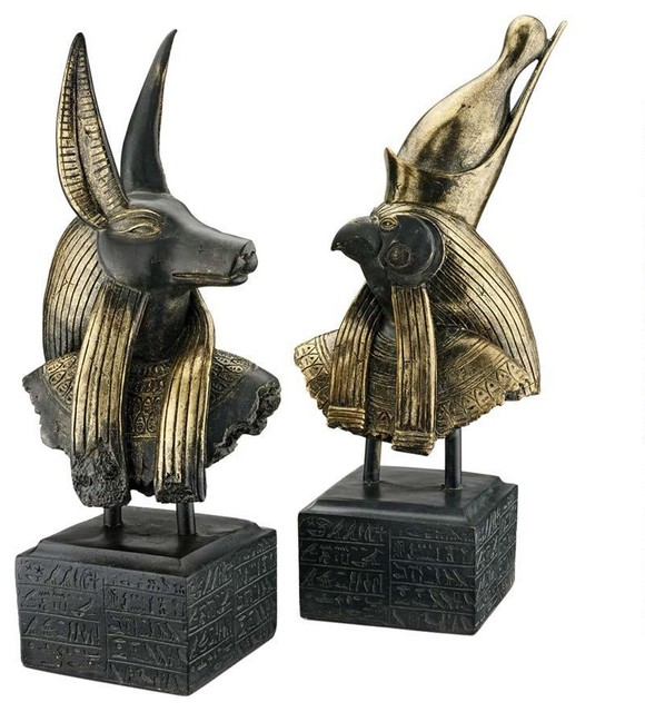 18 classic egyptian art statue ancient gods sculptures Home decor sculptures