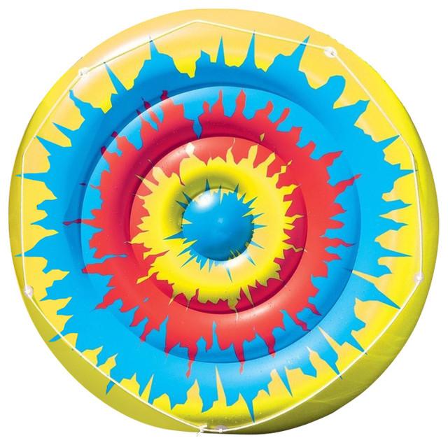 Tie Dye Island Inflatable Pool Toy.