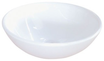 Kingston Brass Serene White China Vessel Bathroom Sink Without Overflow Hole.