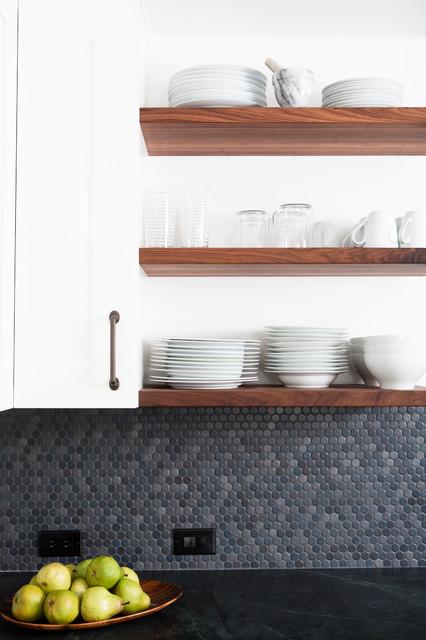 Rustic Modern Kitchen midcentury-kitchen
