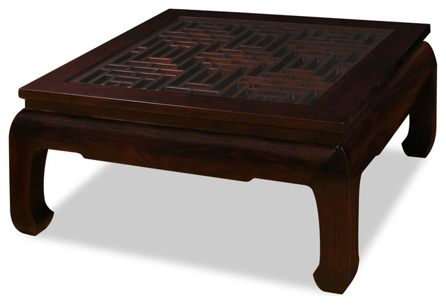 ming style square coffee table asian coffee tables asian style furniture
