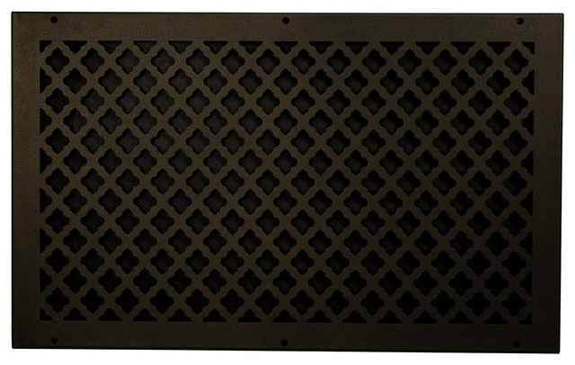 Steel Return Vent Cover, Oil-Rubbed Bronze, Fits Duct Opening 24x14.