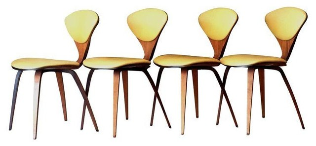 1958 Plycraft Cherner Side Chairs   Set Of 4