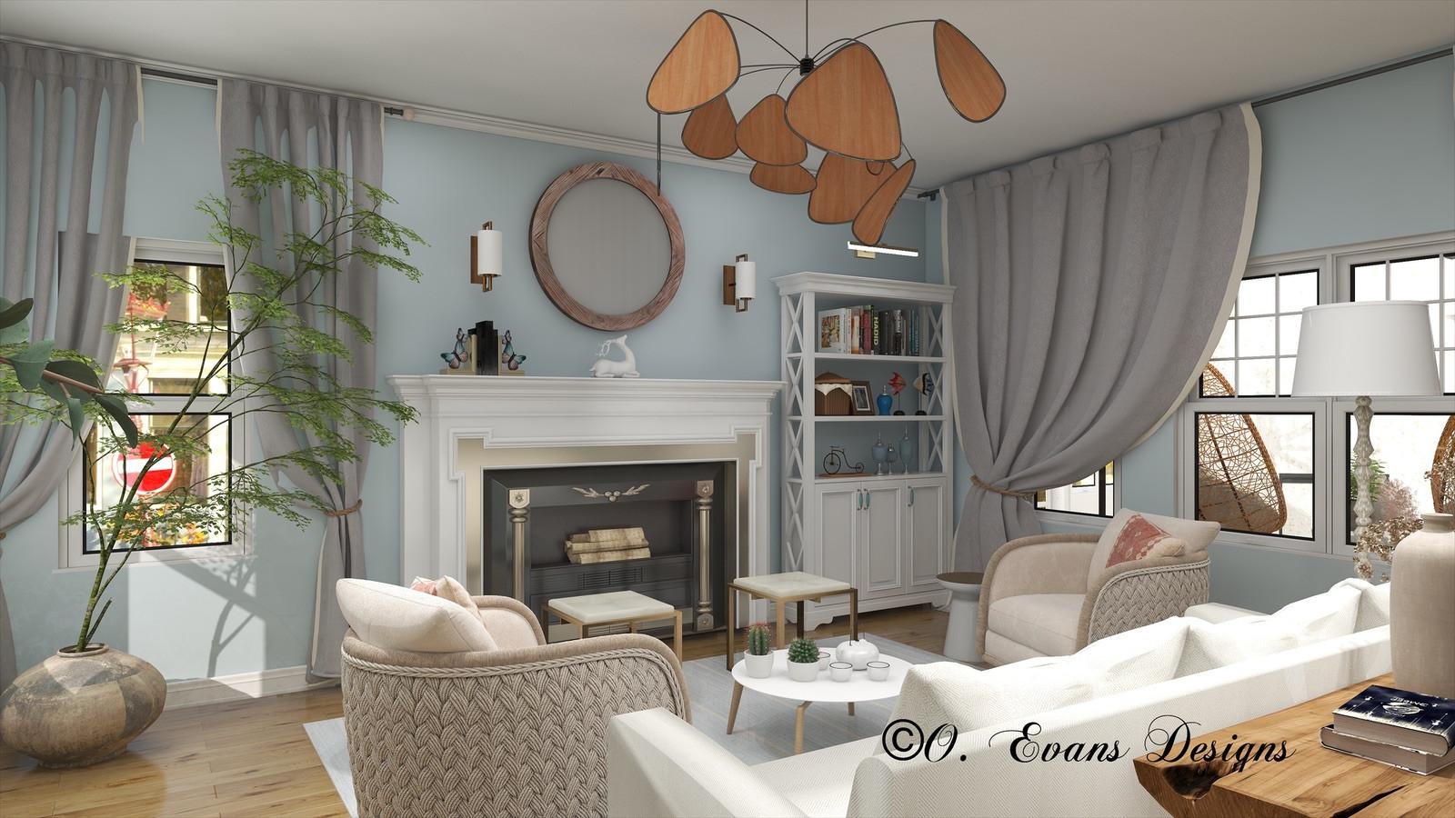 Gulf Coast Living Room Refresh