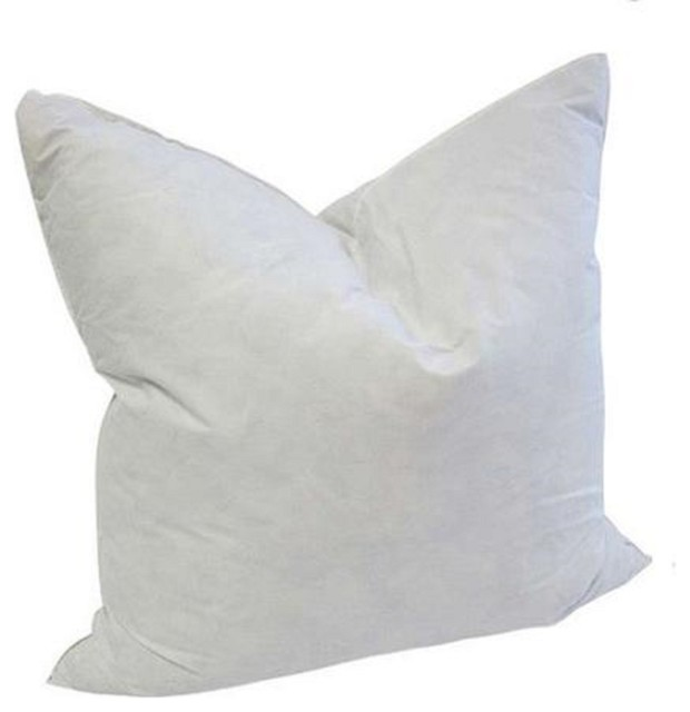 Decorative Pillow Forms : The Fabric Co - Square Goose Feather Pillow Form Insert - View in Your Room! Houzz