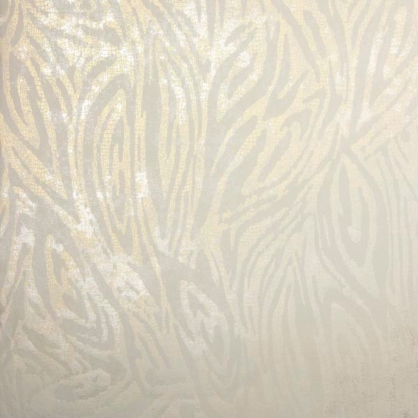 Tempest Champagne Abstract Zebra Wallpaper Contemporary
