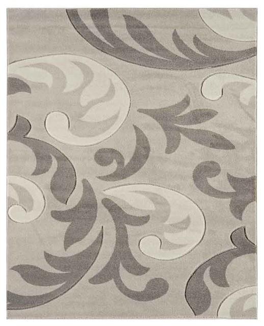 Couture COU13 Rug, Grey, 200x290 cm