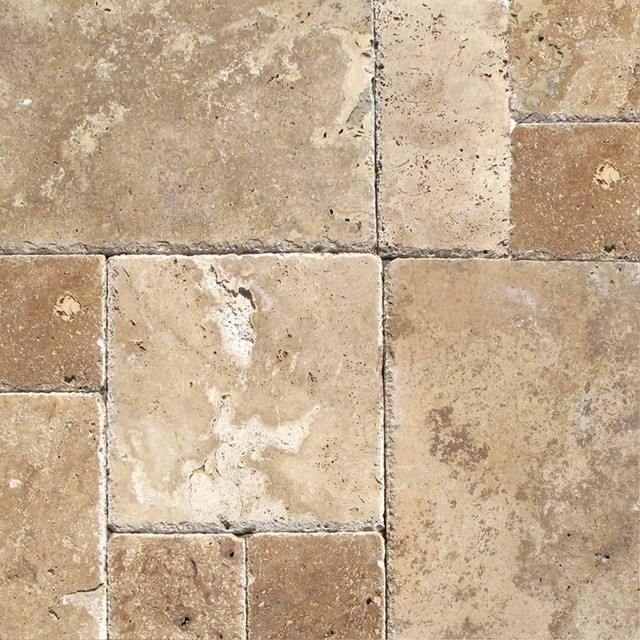 Tuscany Chateaux Travertine Versailles Pattern Tiles Chiseled Gorgeous Versailles Pattern