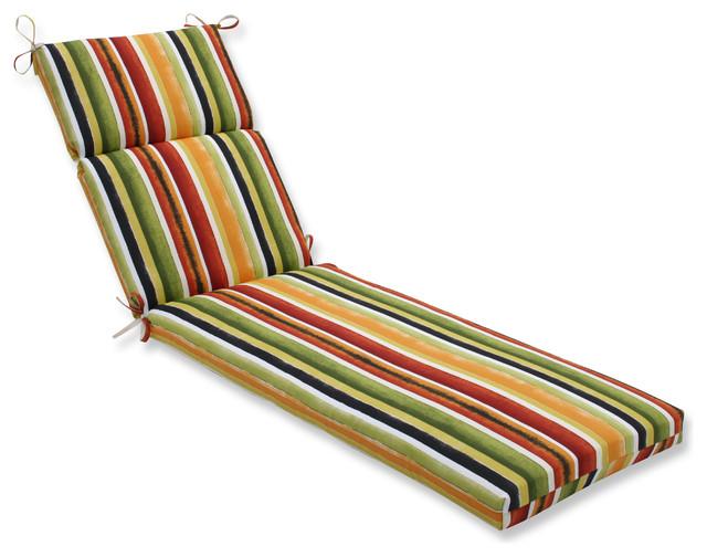 Dina Noir Chaise Lounge Cushion