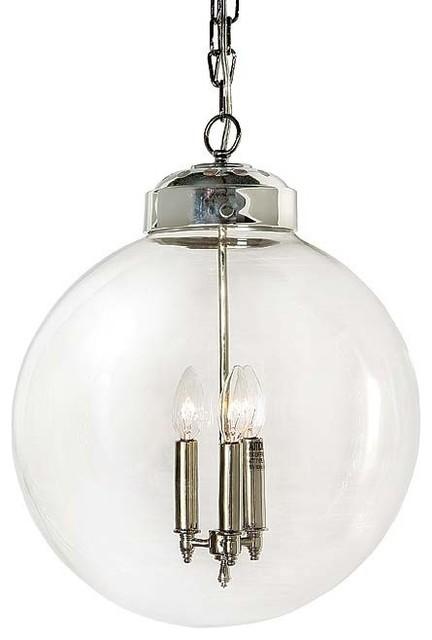 regina andrew design large globe pendant light - Globe Pendant Light