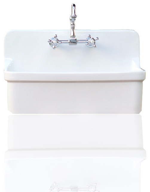 Kohler Gilford High Back Farm Sink With Apron White