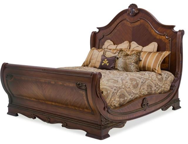 Alico Michael Amini Bella Veneto Sleigh Bed Traditional