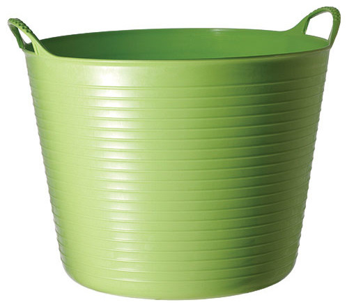 High Quality Medium Tubtrugs Flexible Storage Tub, Pistachio Contemporary Storage Bins  And Boxes