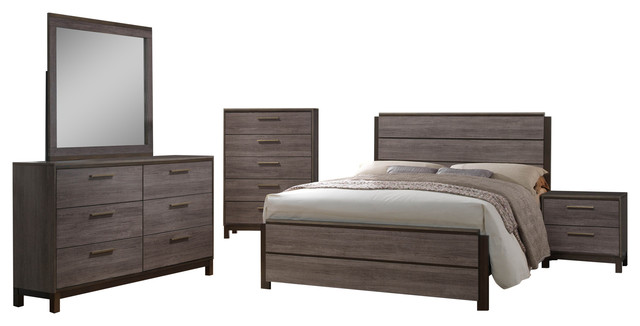 modern bedroom with antique furniture. beautiful bedroom 5piece antique gray wood modern bedroom set king transitionalbedroom furniture in with furniture