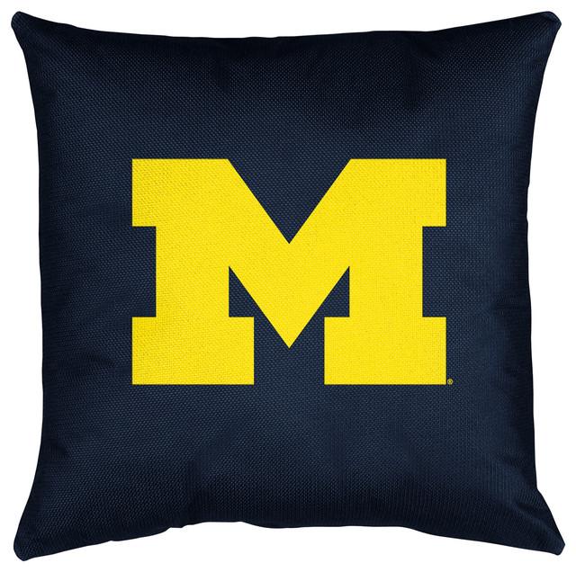 Locker Room Toss Pillow Michigan U.