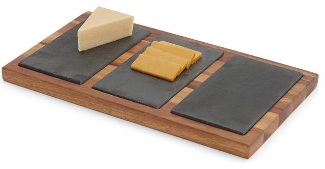 triple slate cheese board
