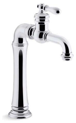 Kohler Artifacts Gentleman'S Bar Sink Faucet, Polished Chrome