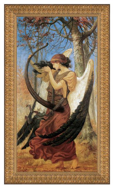 """titanias Awakening 1896"" Stretched Canvas Replica, 14.5""x21""."