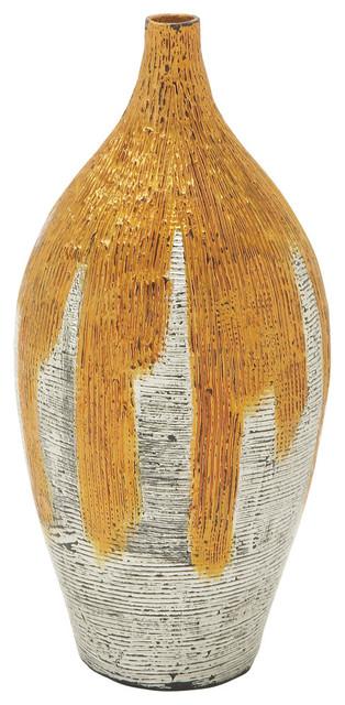 Adorno Lacquer Bamboo Vase vases