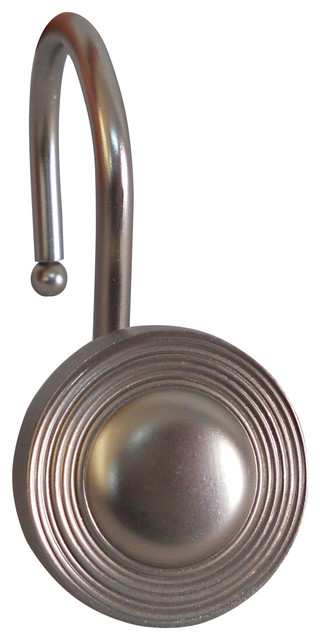 Elegant Home Fashions Shower Hooks Multiple Circle Chrome Finish View In Your Room Houzz