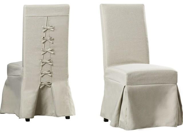 Sabrina Upholstered Chair, Set Of 2.