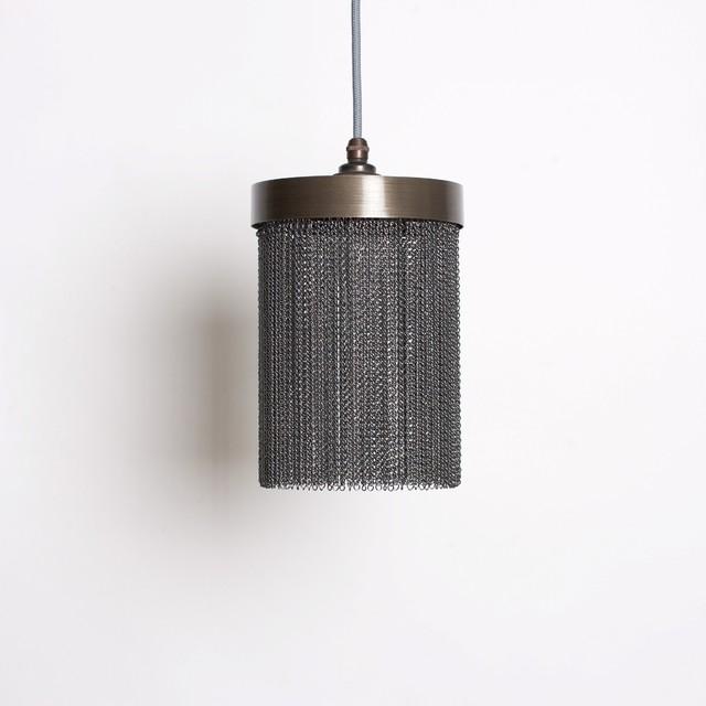 Mini Black Chain Pendant