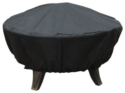 Firedance Cover Black Polyester With Pvc Lining.