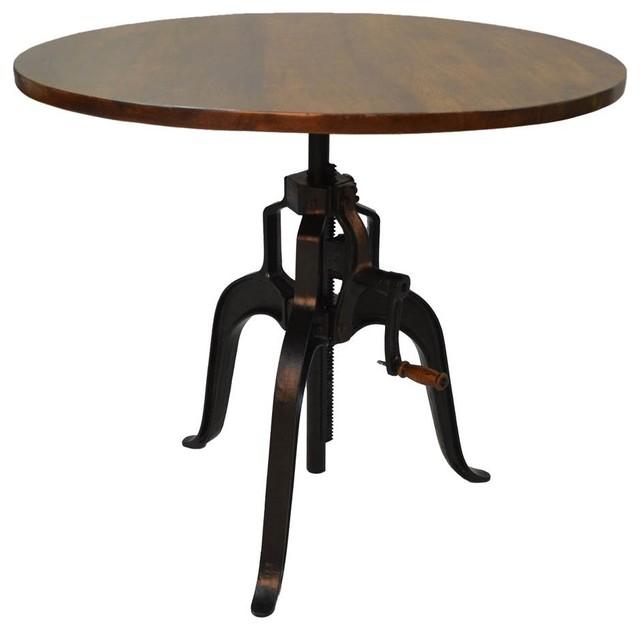 Bently Adjustable Crank Table by Carolina Cottage