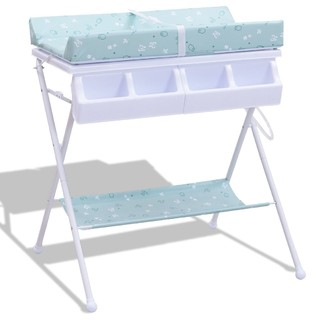 f0bfd957f7a1 Modern Style Fold able Infant Baby Bath Diaper Storage Changing Table -  Contemporary - Changing Tables - by Imtinanz, LLC