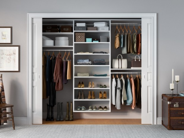 Reach In - Transitional - Closet - Los Angeles - by California Closets ...