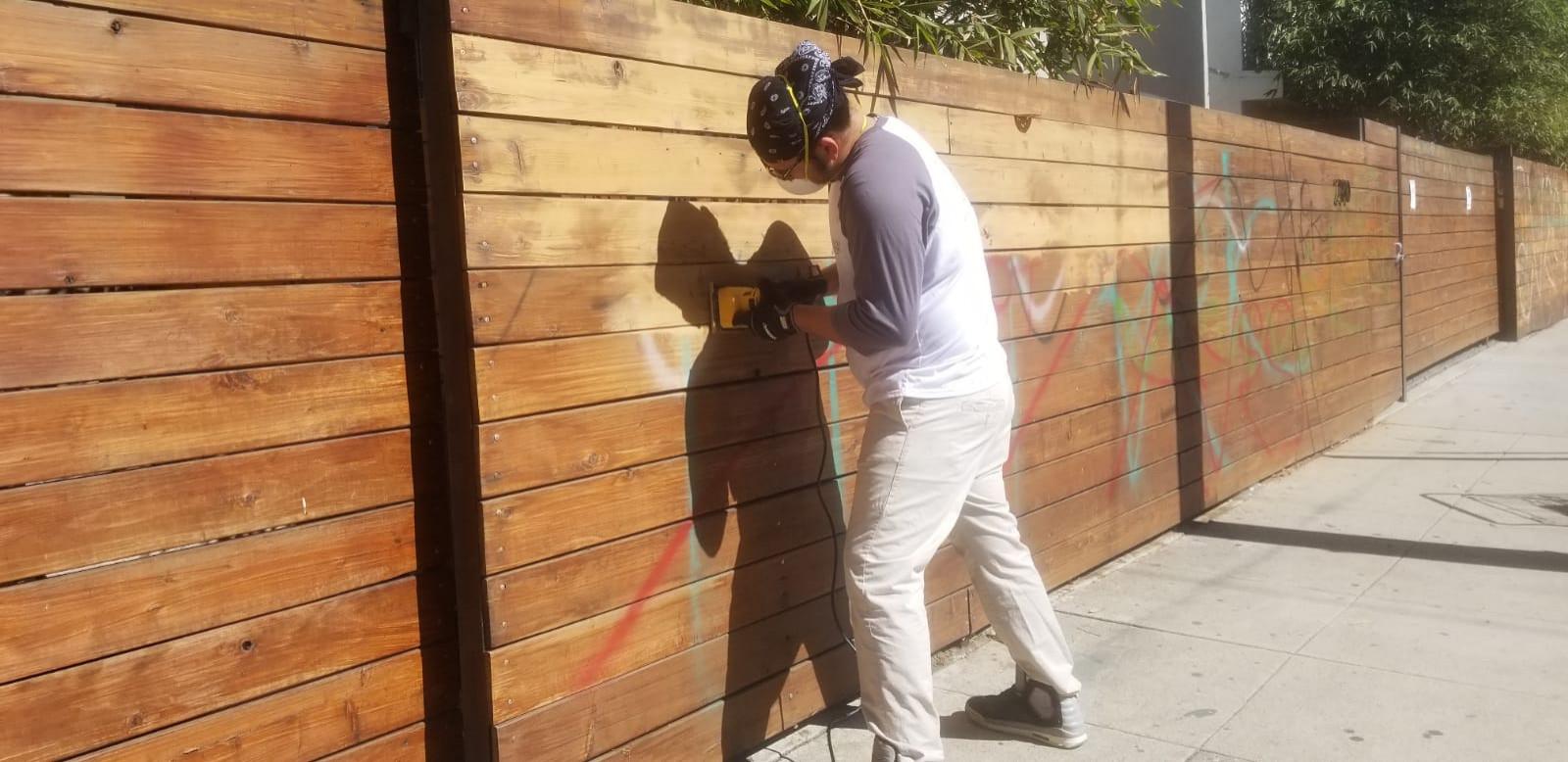 Graffiti Wall-Highland Park