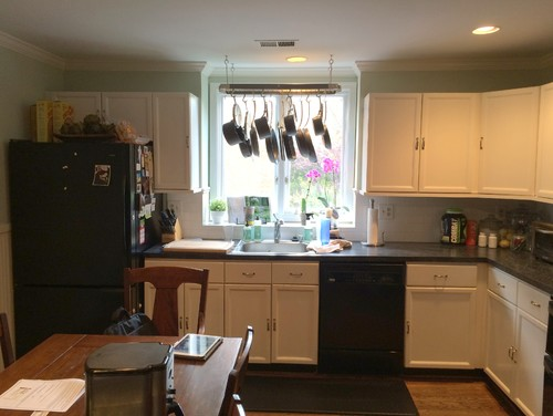 Before after kitchen renovation in alexandria virginia Kitchen design in alexandria egypt